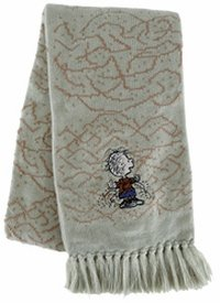 Licensed to Elope Inc Peanuts Licensed Pigpen Scarf (Sage Green with (Pigpen Costume)