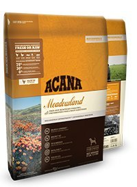 ACANA Regionals Meadowland Dry Dog Food 25# Bag made with FREE-RUN POULTRY, FRESHWATER FISH, NEST-LAID EGGS ( Fast Free Delivery )