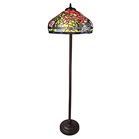 Htdeco - Luminaires - Lámpara de pie Tiffany de la serie de ...