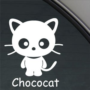 Amazon.com: CHOCOCAT CAT KITTEN Decal Car Truck Window Sticker: Arts