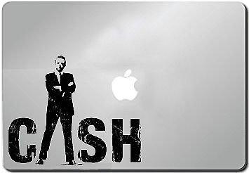 Amazoncom La Decal Johnny Cash Silhouette Car Truck Laptop Window