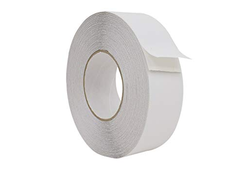 Slip Safety Tape - WOD NST-20C Strong Grip White Anti Slip Tape Safety Track 60 Grit Non Skid Weather Proof Indoor & Outdoor Traction Tape No Slip (Available in Multiple Sizes & Colors): 2 in. x 60 ft.