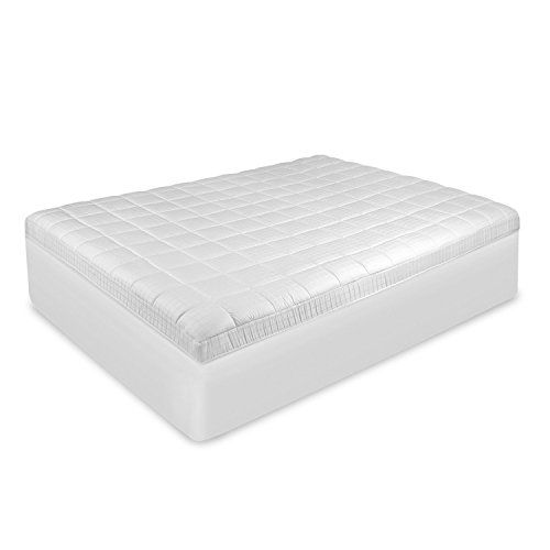 SwissLux Antimicrobial Mattress Pad King by Swiss Lux (Image #1)'