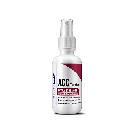 Results RNA ACC Cardio Extra Strength | Comprehensive Cardiovascular Formula for Healthy Blood Pressure & Improved Cardiovascular System - 4oz Spray Bottle