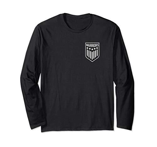 - Warriors 5 Star Crest Longsleeve T-Shirt