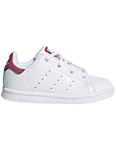 adidas Stan Smith I, Zapatillas de Deporte Unisex Niños Blanco (Ftwbla / Ftwbla / Ftwbla 000)