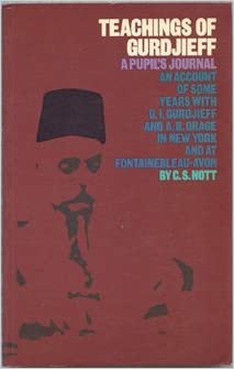 Book Teachings of Gurdjieff: A Pupil's Journal
