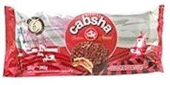Cabsha Alfajores de Dulce de Leche Cubierto Con Chocolate 282 grs.