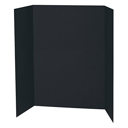 Black Presentation Board - Spotlight Display Board - 48 x 36 Inches - 1 Ply Black