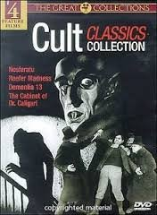 Cult Classics Collection 4 Movie - Family Horror Great