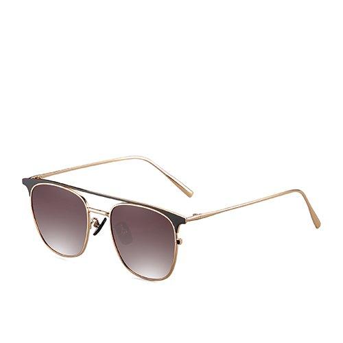 Gafas C4 para de gafas espejo Sunglasses guía Bastidor sol sol viaje sol La de de metal de TL la gafas de sol los Brown Gold P de hombres polarizadas aviador C2 gafas de de pesca de azul oro 4AW6dwqH