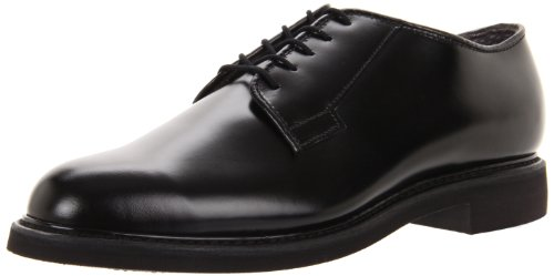 Bates Men's Lites High Gloss Oxford, Black, 13 E US ()
