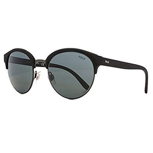 Redondas Shiny 0ph4127 Gunmetal Polo 51 Dark Semi Sol Lauren Gafas De Ralph YfqzTz