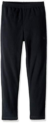 Spyder Boys' Speed Fleece Pant, Black/Polar, Medium