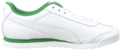 Blanco amazon Adulto Puma puma Classic Green White Zapatillas Roma Unisex w88HFqX4