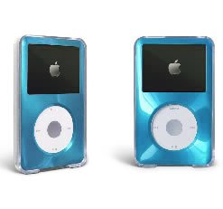 MIP Apple iPod Classic Hard Case with Aluminum Plating 80gb 120gb 160gb-Light (Blue Ipod Classic 160 Gb)