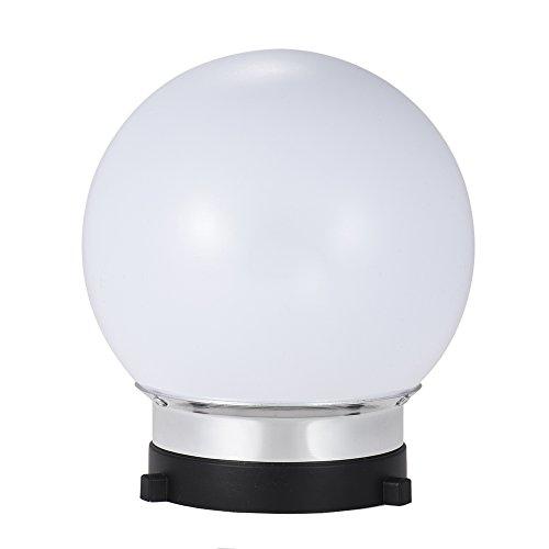 6'' Spherical Diffuser Soft Ball for Bowens Mount Monolight Studio Strobe Flash Light by Qintec (Image #1)