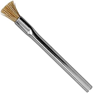 product image for Gordon Brush - ESD Safe Brush with 3/4 Inch Horse Hair Bristles and Zinc Plated Steel Handle, 4-1/2 Inchlong (50 Units)