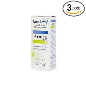 Boiron Homeopathic Medicine Arnicare Gel for Muscle Aches, 2.6-Ounce Tubes (Pack of 3)
