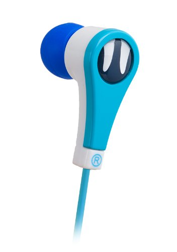 iFrogz Animatones Volume Limiting Earbuds for Kids - Blue ()
