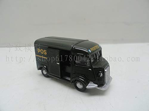 Greensun 1:87 Scale Simulation Mini Alloy car,Simulation Citroen POSTES,Collection Toy Model,
