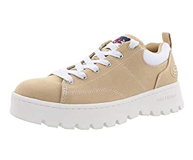 Skechers Street Cleat Luckier Womens Shoes Size 5 Khaki