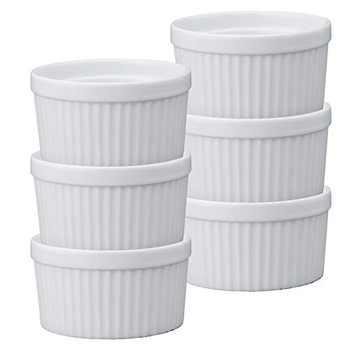 Set of 6, 10-ounce ramekins