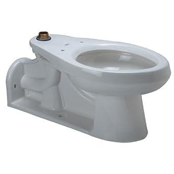 Zurn Z5640 Ada Compliant Floor Mounted Back Outlet Flush