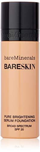 (bareMinerals Pure Serum Foundation, Bare Satin, 1 Ounce)