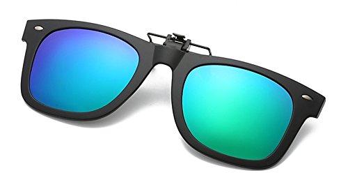 Clip Type6 lunettes de Up soleil myopie DAUCO Élégant Myopic on Flip Unisex extérieure conduite pêche de Polarisation confortable Lunettes wgPX7Px