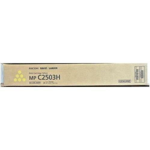 Ricoh 841919 Yellow Toner (9,500 Yield) for Ricoh MP C2003, C2503; Lanier MP C2003, C2503; Savin MP C2003, C2503 OEM by Ricoh ()