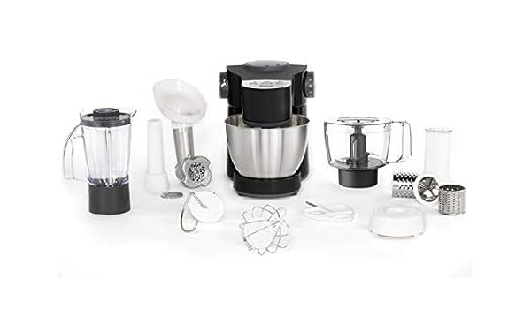 Tefal Wizzo QB3198 - Robot de cocina (4 L, Negro, Acero inoxidable, Tocar, 1 L, Mezcla, Picar, Corte, Moler, Amasar, Mezcla, 2,7 L): Amazon.es: Hogar