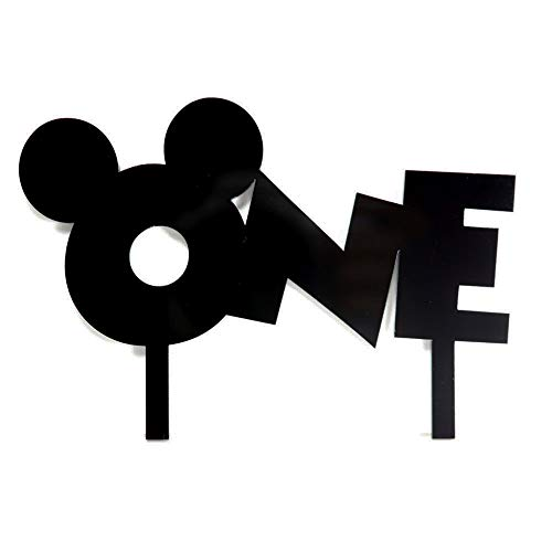 MIckey Mouse ONE cake topper by Acrylic Art Design