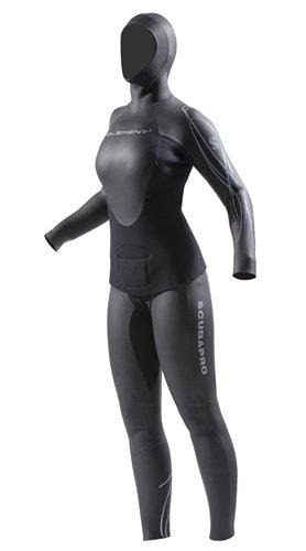 ScubaPro Womens Element 2PC Apnea 3mm Wetsuit (Large)
