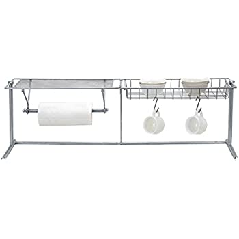 Amazon.com: EURO-HOME Over-The-Sink Organizer, Steel: Dbroth Over ...