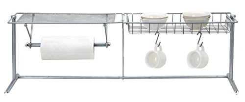 EURO-HOME Over-The-Sink Organizer, Steel