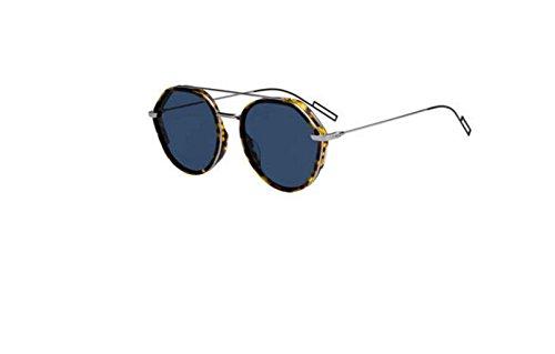 New Christian Dior Homme 0219S 03MA/A9 Havana Ruthenium Sunglasses - New Dior Glasses
