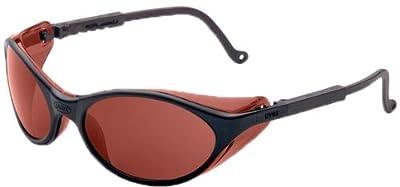 Uvex S1608X Bandit Safety Eyewear, Black Frame, SCT-Gray UV Extreme Anti-Fog Lens