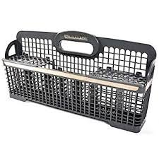 "{     ""DisplayValue"": ""Whirlpool W10190415 Dishwasher Silverware Basket Genuine Original Equipment Manufacturer (OEM) Part"",     ""Label"": ""Title"",     ""Locale"": ""en_US"" }"