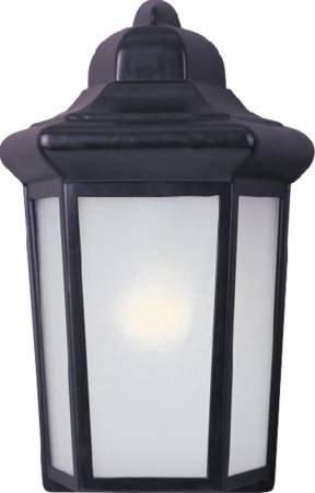 - Maxim 85928WT, Side Door EE Fluorescent Outdoor Wall Mount, 1 Light, 13 Watts, White