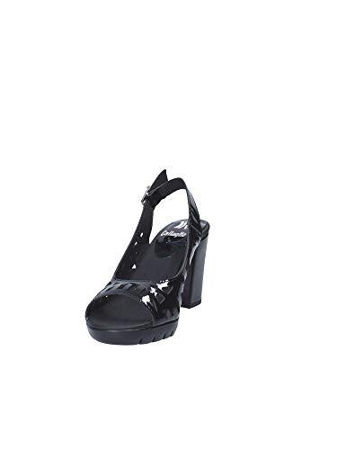 Decollet 99112 A Pour Sauté Noir Black Chaussures Callaghan Femmes t4zwqWx6n7