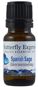 Butterfly Express Spanish Sage Essential Oil 10 ml