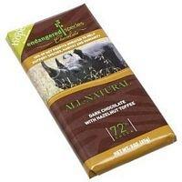 Endangered Species Chocolate Rhino Hazelnut Dark Chocolate Bar, 3 Ounce - 12 per ()