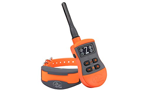 Sportdog Brand Sporttrainer Remote Trainers Bright Easy To Read Oled Screen Waterproof Rechargeable Dog Training Collar With Tone Vibration And Static 3 4 Mile Range 6 Dog Expandable