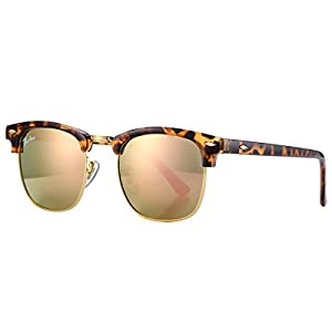 Pro Acme PA3016 Classic Crystal Lens Clubmaster Sunglasses