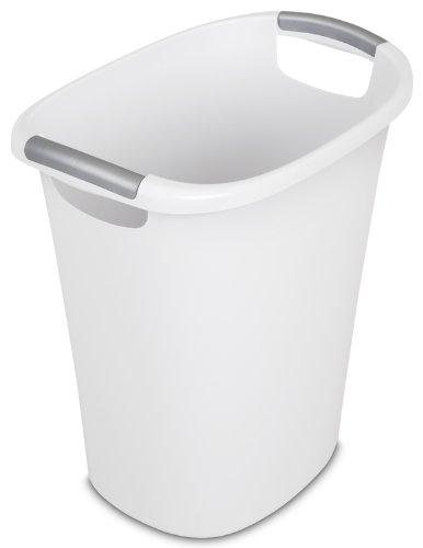 Sterilite 10638006 Wastebasket Titanium Inserts