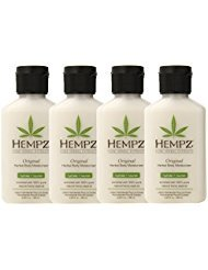 Hempz Original Herbal Body Moisturizer RBlav, 4Units