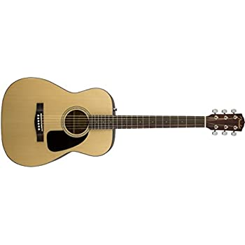 Fender Beginner Acoustic Guitar CF-60 - Natural - Folk - With Hardshell Case