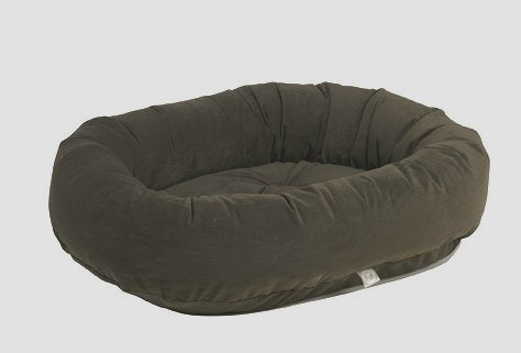 Bowsers Donut Dog Bed, Microvelvet Espresso, Small 27