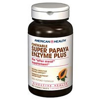 American Health Multi-Enzyme Plus, Super Papaya, 360 Count